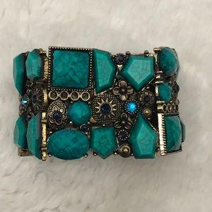 Womens Teal Bracelet.